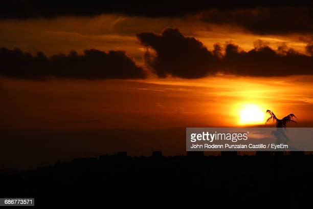 Idyllic View Of Dramatic Sky During Sunset