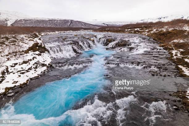 Idyllic waterfall, Iceland