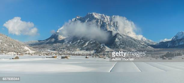 Idyllic Winter Landscape, Lermoos, Tyrol, Austria, Europe