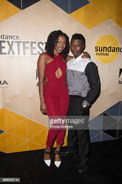 Iesha Rochelle and Oumi Zumi attend the world premiere of 'Royal' and the LA premiere of 'The Greasy Strangler' with a performance by Big Freedia at...
