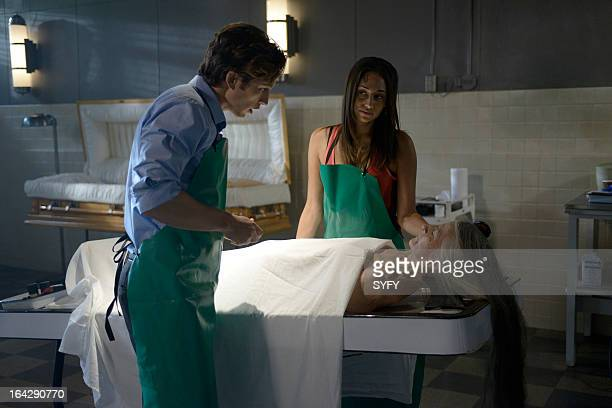 HUMAN 'If I Only Had Raw Brain' Episode 311 Pictured Bobby Campo as Max Meaghan Rath as Sally Malik