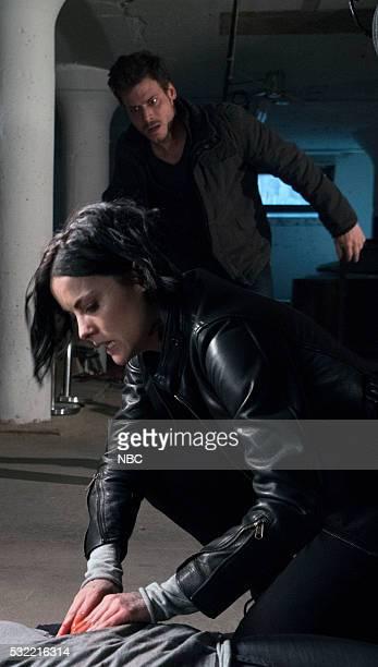BLINDSPOT 'If Love A Rebel Death Will Render' Episode 122 Pictured Jaime Alexander as Jane Doe François Arnaud as Oscar