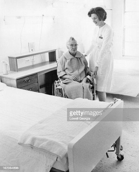 DEC 28 1966 JUL 4 1967 If Not First Then Who Is Mrs Lottie Mangnall a resident of the Golden Age Manor Nursing Home 10201 E 3rd Ave Aurora became one...