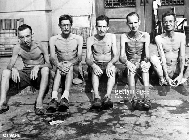 If we did not have Earl Carroll's graphic story of three years as camp leader at Santo Tomas University Internment camp this picture would give an...