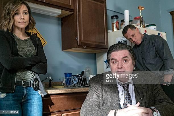 D 'If We Were Normal' Episode 319 Pictured Sophia Bush as Erin Lindsay Oliver Platt as Daniel Charles Jason Beghe as Hank Voight