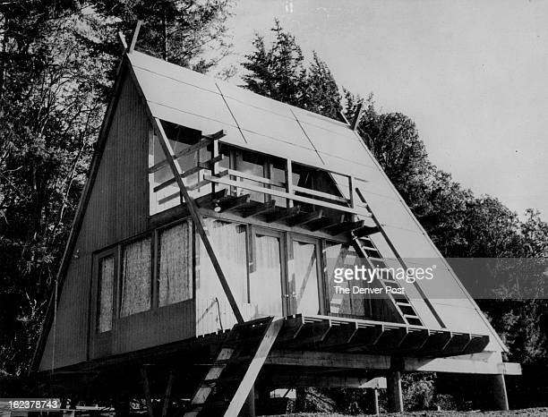 MAR 21 1967 MAR 26 1967 If you're looking for an Aframe cabin you'll find the design shown here comfortable inexpensive and different It's simplicity...