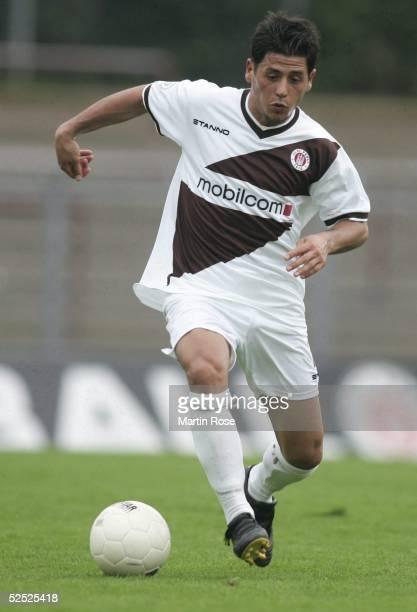 Fussball Testspiel 2004 Hamburg FC St Pauli Trabzonspor 00 Ifet TALJEVIC / PAULI 180704