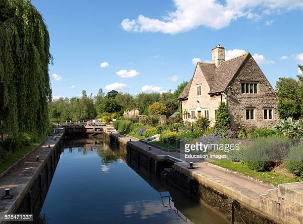 Iffley Lock River Thames Oxford UK