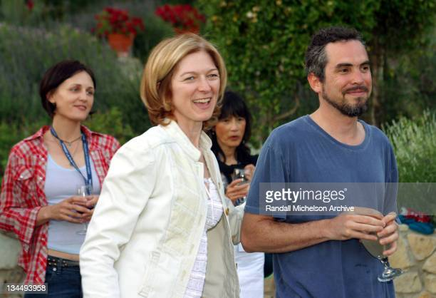 IFP/West Executive Director Dawn Hudson and Alfonso Cuaron