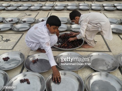 Iftar at Memon Masjid