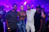 Iggy Azalea and French Montana attend Jewel Nightclub at the Aria Resort Casino on July 23 2016 in Las Vegas Nevada