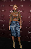 Iggy Azalea arrives at Jewel Nightclub at the Aria Resort Casino on July 23 2016 in Las Vegas Nevada