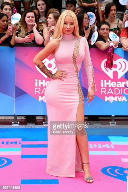 Iggy Azalea arrives at the 2017 iHeartRadio MuchMusic Video Awards on June 18 2017 in Toronto Canada