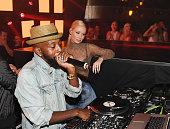 Iggy Azalea attends Jewel Nightclub at the Aria Resort Casino on July 23 2016 in Las Vegas Nevada