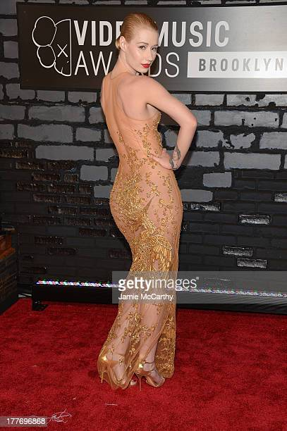 Iggy Azalea attends the 2013 MTV Video Music Awards at the Barclays Center on August 25 2013 in the Brooklyn borough of New York City