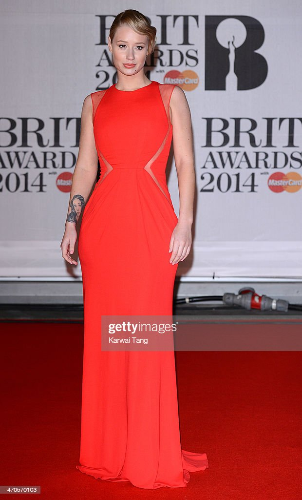 <a gi-track='captionPersonalityLinkClicked' href=/galleries/search?phrase=Iggy+Azalea&family=editorial&specificpeople=8558263 ng-click='$event.stopPropagation()'>Iggy Azalea</a> attends The BRIT Awards 2014 at 02 Arena on February 19, 2014 in London, England.