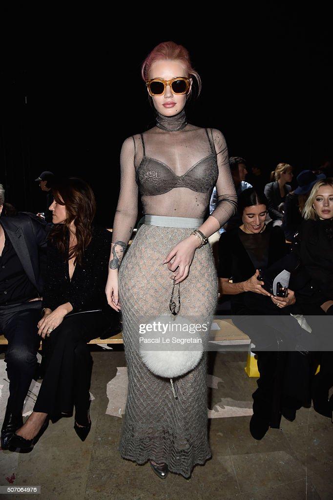 Viktor&Rolf : Front Row - Paris Fashion Week - Haute Couture Spring Summer 2016
