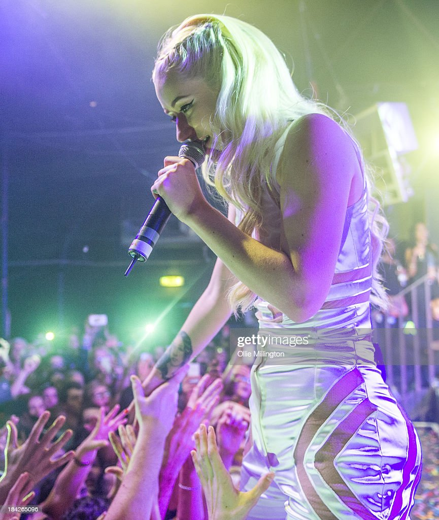 Iggy Azalea performs at G-A-Y on October 12, 2013 in London, England.