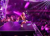 Iggy Azalea performs at Jewel Nightclub at the Aria Resort Casino on July 23 2016 in Las Vegas Nevada