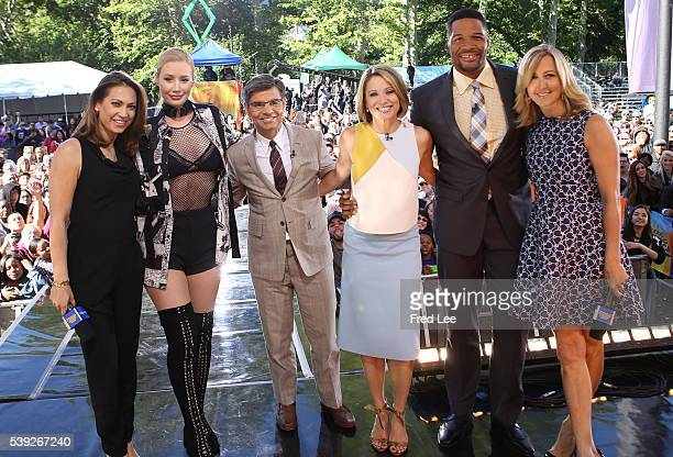 AMERICA Iggy Azalea performs live at the GMA Summer Concert Series from Central Park in New York City on GOOD MORNING AMERICA 6/10/16 airing on the...