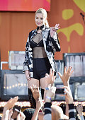Iggy Azalea performs on ABC's 'Good Morning America' at Rumsey Playfield Central Park on June 10 2016 in New York City
