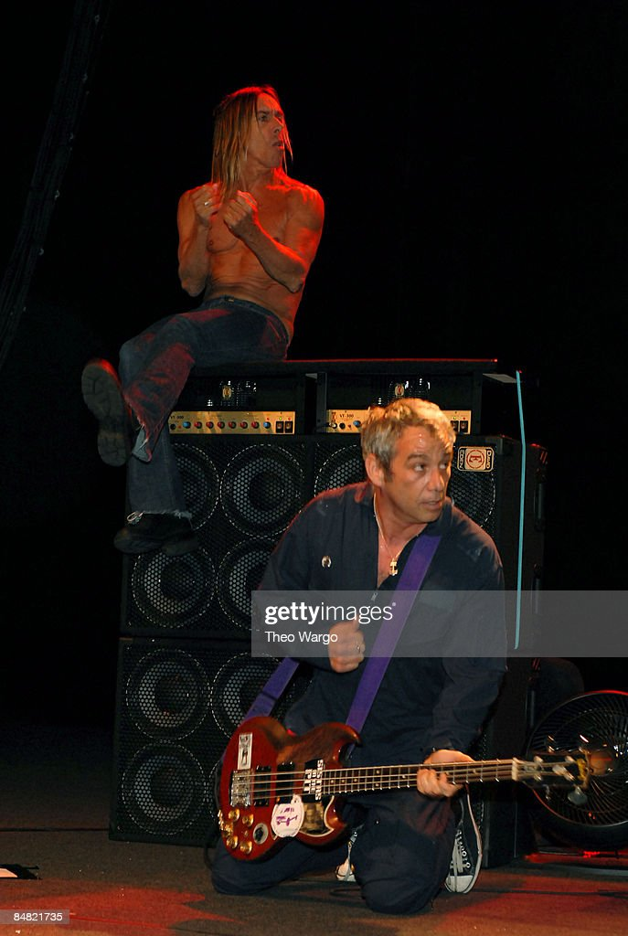 Iggy Pop and Mike Watt of The Stooges