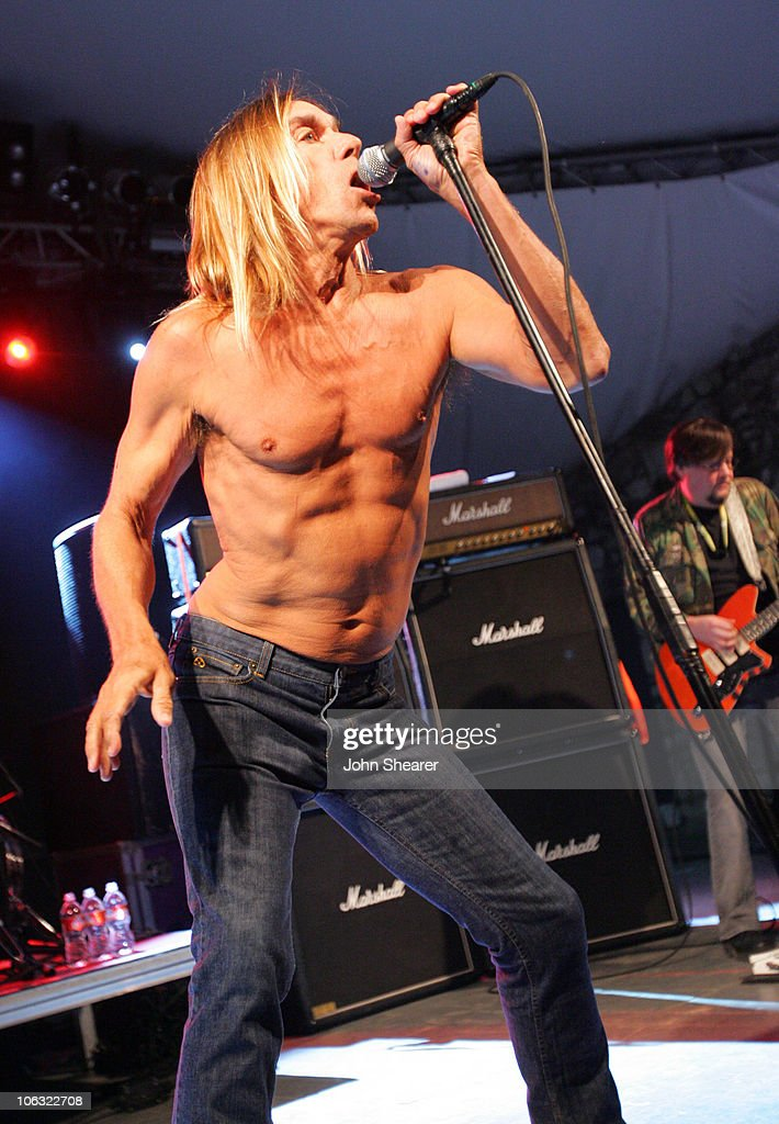 Iggy Pop and The Stooges during 21st Annual SXSW Film and Music Festival - The Stooges at Stubbs at Stubb's in Austin, Texas, United States.