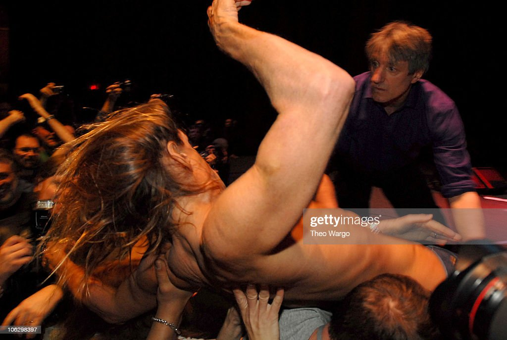 Iggy Pop and The Stooges during Iggy Pop and The Stooges Perform at United Palace Theatre in New York City at United Palace Theatre in New York City, New York, United States.