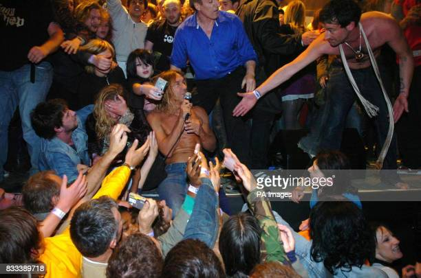 Iggy Pop and The Stooges in concert at 'the Children's Society Rock the House Live' at Harewood House Leeds