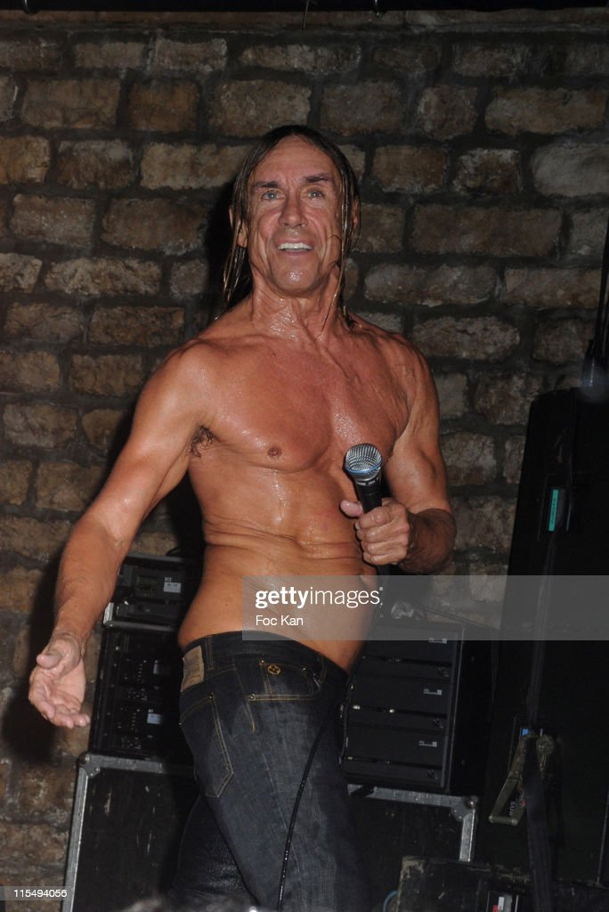 Iggy Pop and The Stooges perform at The Converse 100th Anniversary Party and Iggy Pop Concert at the Show Case Club on September 04, 2008 in Paris, France.