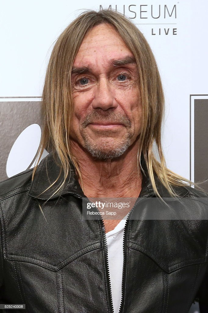 Iggy Pop attends A Conversation With Iggy Pop And Josh Homme at The GRAMMY Museum on April 27, 2016 in Los Angeles, California.
