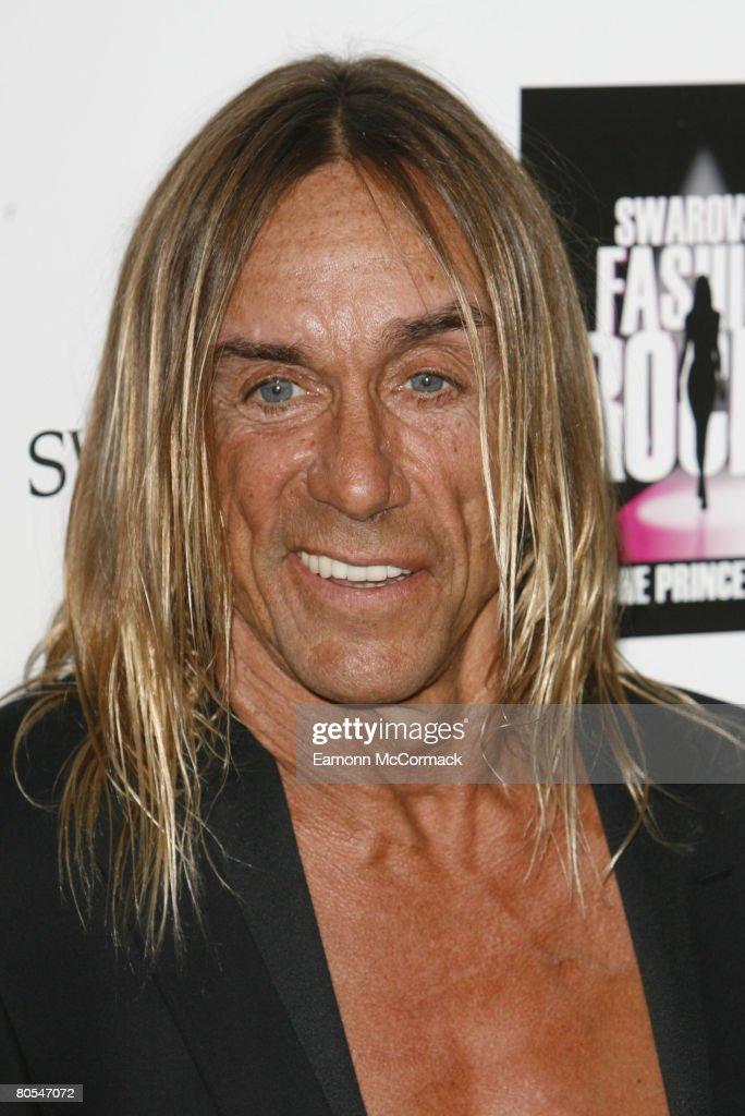 <a gi-track='captionPersonalityLinkClicked' href=/galleries/search?phrase=Iggy+Pop&family=editorial&specificpeople=171445 ng-click='$event.stopPropagation()'>Iggy Pop</a> attends the Swarovski Fashion Rocks a the the Royal Albert Hall on October 18 2007, in London England. (Photo by Eamonn McCormack/Wireimage) Local Caption