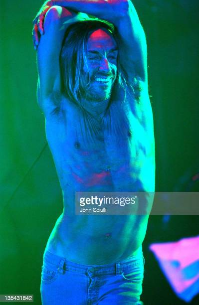 Iggy Pop during Playstation 2 Offers A Passage Into 'The Underworld' Show at Belasco Theater in Los Angeles California United States