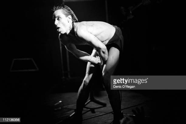 Iggy Pop live at the Music Machine in London January 1978