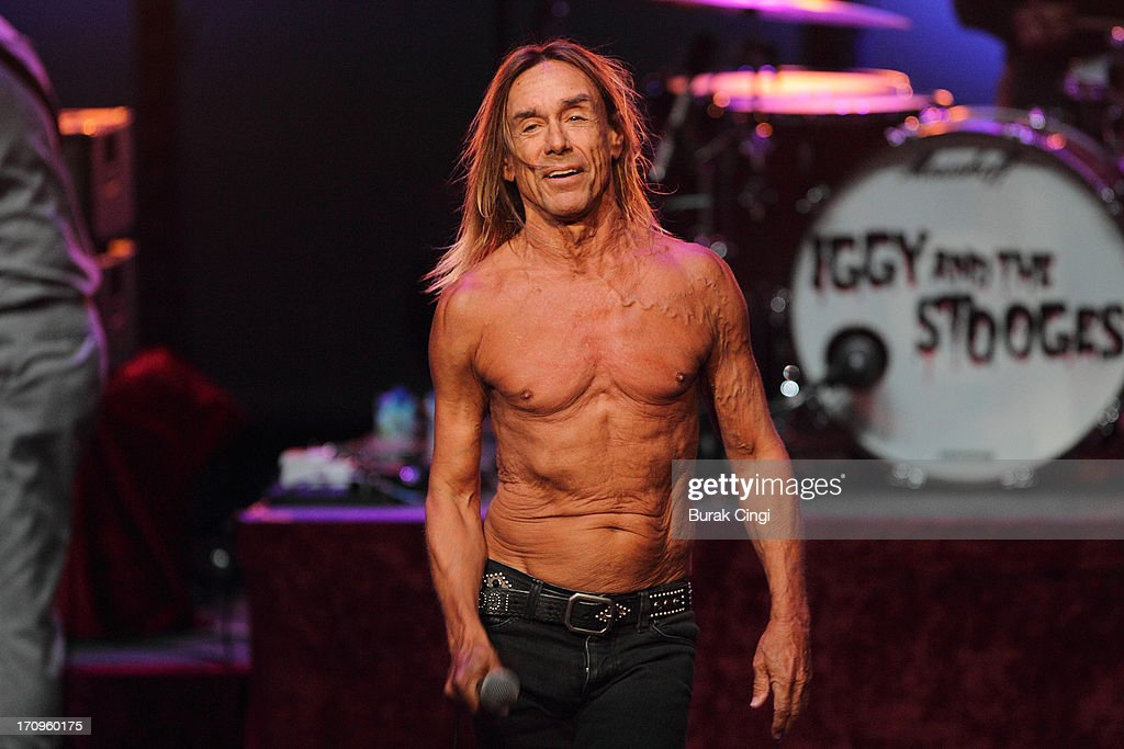 <a gi-track='captionPersonalityLinkClicked' href=/galleries/search?phrase=Iggy+Pop&family=editorial&specificpeople=171445 ng-click='$event.stopPropagation()'>Iggy Pop</a> of Iggy and The Stooges performs on stage at Meltdown Festival 2013 at the Royal Festival Hall on June 20, 2013 in London, England.
