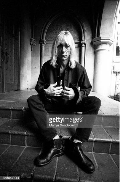 Iggy Pop portrait at Chateau Marmont Hotel in Los Angeles United States 1996