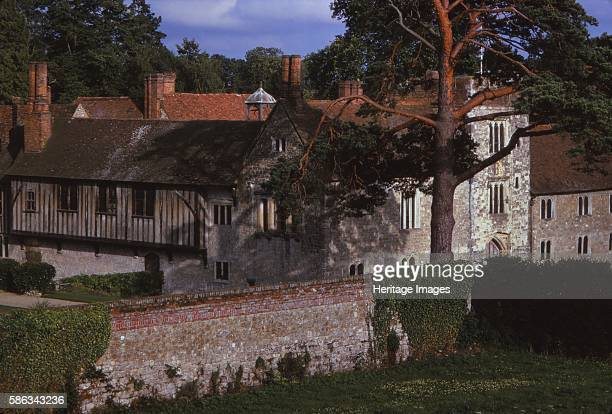 Ightham Mote Kent 20th century A 14th century medieval moated manor house close to the village of Ightham near Sevenoaks in Kent the house is a Grade...