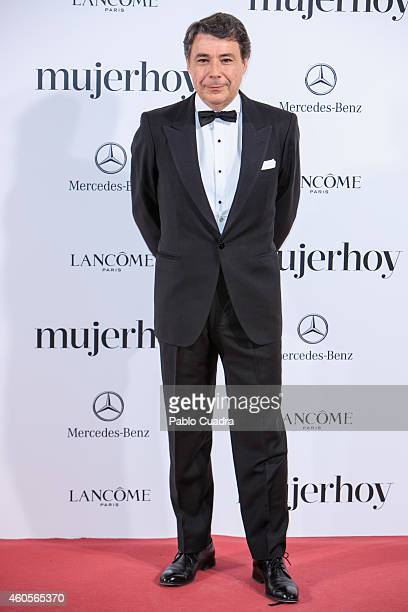 Ignacio Gonzalez attends 'Mujer Hoy' awards gala at Palace Hotel on December 16 2014 in Madrid Spain