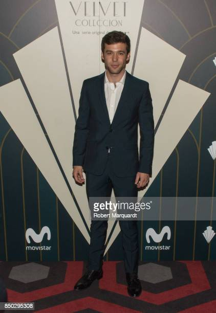 Ignacio Montes poses during a photocall for the premiere of 'Velvet' at the Sala Phenomena on September 20 2017 in Barcelona Spain