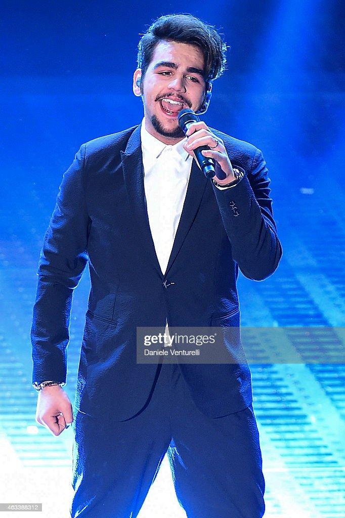 Ignazio Boschetto attends the Fourth night of 65th Festival di Sanremo 2015 at Teatro Ariston on on February 13 2015 in Sanremo Italy