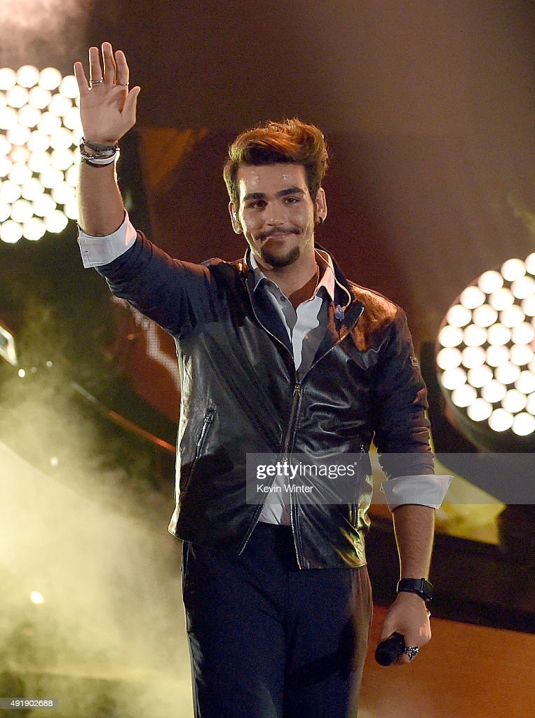 Ignazio Boschetto of Il Volo performs onstage during Telemundo's Latin American Music Awards at the Dolby Theatre on October 8 2015 in Hollywood...