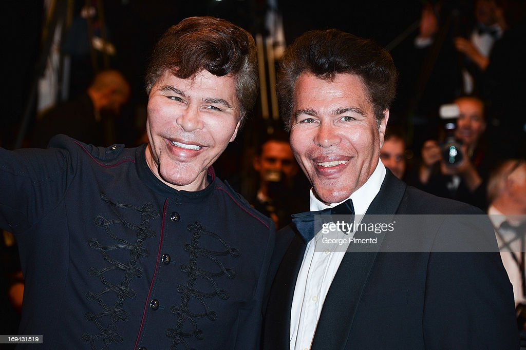 Igor Bogdanoff and Grichka Bogdanoff attend the Premiere of 'Michael Kohlhaas' at The 66th Annual Cannes Film Festival on May 24, 2013 in Cannes, France.
