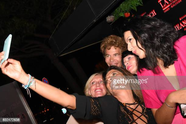 Igor Bogdanov and guests attend the Tyga Party at VIP Room as part of SaintTropez Party On French Riviera on August 15 2017 in SaintTropez France