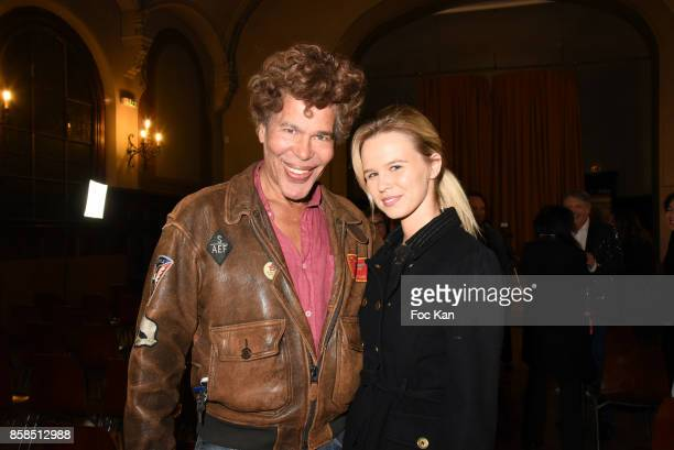 Igor Bogdanov and Julie Jardon attend 'Dix Ans de Scene' Jacques Ktorza Showcase at Lycee Jacques Decour on October 6 2017 in Paris France