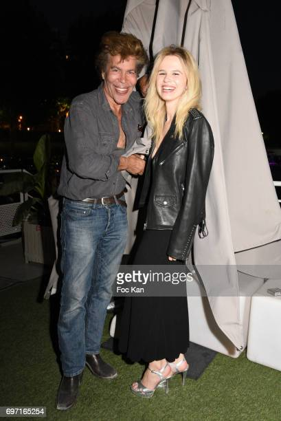 Igor BogdanovÊand Julie Jardon attend Croisiere Show hosted by SO Life at Alizee Boat on June17 2017 in Paris France
