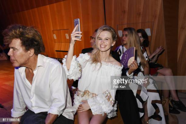 Igor BogdanovÊand Julie JardonÊattend the 'Paris Appreciation Awards 2017' At The Eiffel Tower on July 8 2017 in Paris France