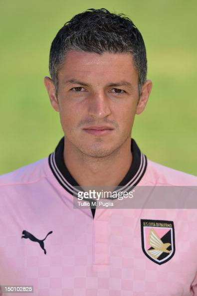 Igor Budan of US Citta di Palermo poses during a portrait session for the team's official headshots at Campo Tenente Onorato on August 10 2012 in...