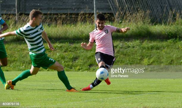 Igor Coronado of US Citta di Palermo in action during the PreSeason Friendly match bewteen US Citta di Palermo and ND Ilirija at Sport Arena on July...
