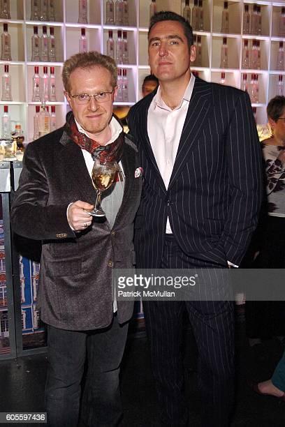 Igor Galburt and Drew Beaver attend DIANE VON FURSTENBERG After Show Party Sponsored by IMPERIA VODKA at Diane von Furstenberg Studio on February 5...