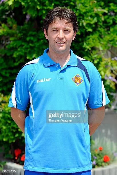 Igor Lazic 2nd coach poses during the TuS Koblenz team presentation on July 1 2009 in Bad Ems near Koblenz am Rhein Germany